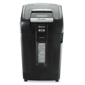 Stack and shred 750x Auto Feed Heavy Duty Shredder Super Cross cut 750 Sheets