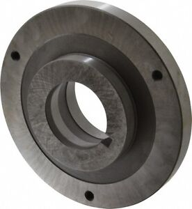 Bison Lathe Chuck Back Plate Lo Fits Set tru 6 In Chuck 7 879 9062