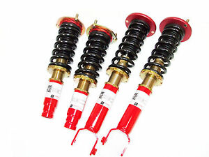 F2 Function And Form Type 1 Coilovers 97 01 Honda Prelude Bb6
