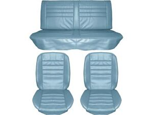1965 Chevelle Standard Seat Upholstery Full Set Blue Coupe