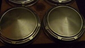 Dodge Plymouth Mopar Police Musclecar Style Hubcaps Set Of 4