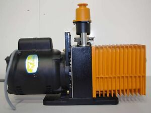 Alcatel Vacuum Pump 2012a W Oil Mist Eliminator
