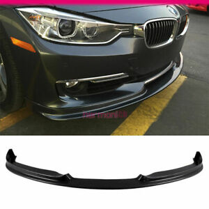 Fits 2012 2015 Bmw F30 3 series 320 328 335 4dr H style Front Bumper Lip Pu