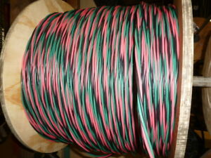 500 Ft 12 2 Wg Submersible Well Pump Wire Cable Solid Copper Wire