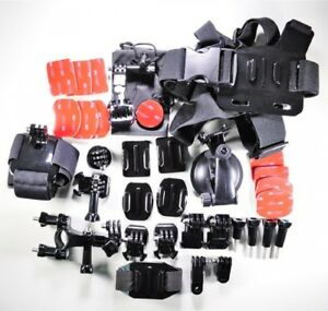 Go Pro Accessory Kit Ultimate Combo Kit 33 Pieces For Gopro Hero3 gopro Hero3 g