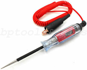 12 24v Digital Electric Circuit Tester Test Light Car Boat Trailer Rv Snowmobile