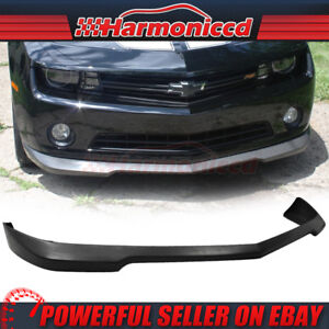 Fits 2010 2013 Chevy Camaro Coupe Convertible Ls Lt Front Bumper Lip Spoiler Pu