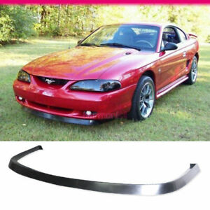 Fits 94 98 Ford Mustang Gt Style Front Bumper Lip Spoiler Pu