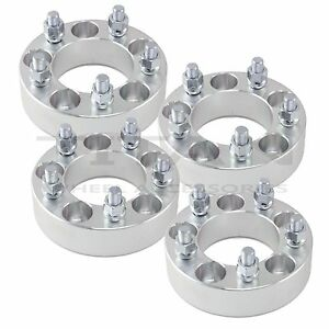 4 1 5 5x4 5 To 5 X 4 5 Wheel Spacers Thick Adapters 1 2 Studs 5lug Four