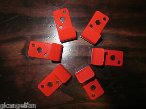 6 wall Hook Brackets Or Hangers For 2 1 2 Gal Water Pressure Fire Extinguisher