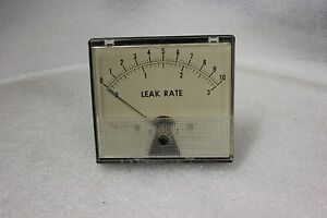 Weston Leak Rate Panel Mount Gauge Meter Model 1946 t N 25
