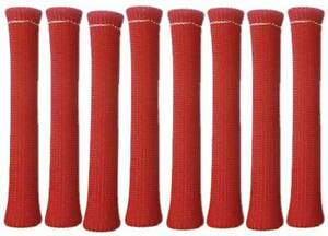 Big End Performance 80126 Spark Plug Wire Boot Protectors Red Qty Of 8