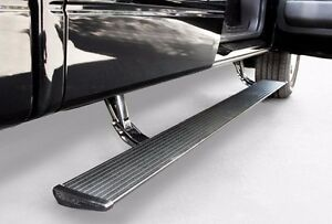 Amp Powerstep Electric Running Boards For 09 14 Ford F 150 All Cabs 75141 01a