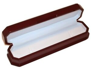 12 Elegant Large Cherry Wood Bracelet Or Watch Jewelry Display Gift Boxes
