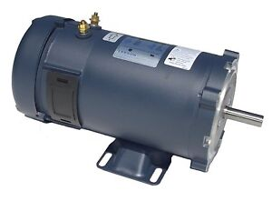 1hp 1800rpm 56c Frame 24 Volts Dc Tefc Leeson Electric Motor 108053