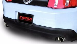 Corsa Xtreme Axle Back Exhaust Kit For 2005 2010 Mustang 4 6l 5 4l V8 Gt