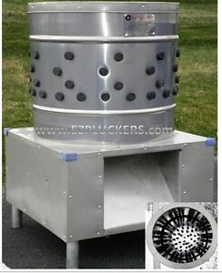 New Ez 131 Ezplucker Stainless Steel Chicken Plucker De feather Machine