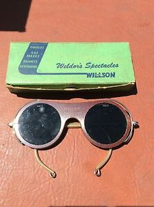 willson weld Spectacles antique Vintage