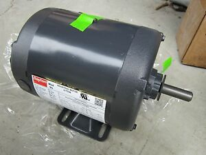 Dayton Motor 31tt08 1 2 Hp 208 230 460 V Continuous Duty New Old Stock
