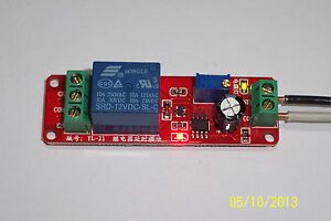 1pc 12 Vdc Adjustable On Delay Time 0 To 10 Seconds 10 Amp Relay Board Usa