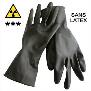 X ray Protection Surgical Gloves Size 8 0 m