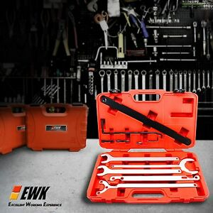Ewk Bmw Fan Clutch Nut Wrench Water Pump Holder Wrench Tool Set 32 36 38 40 65mm