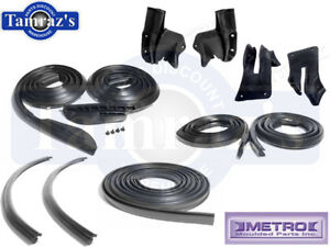 66 67 Coronet Belvedere Satellite Weatherstrip Seal Kit 11 Pieces 2 Door Hardtop