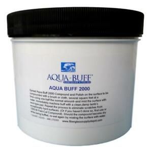 Aqua Buff 2000 Buffing Polishing Compound Quart 32oz