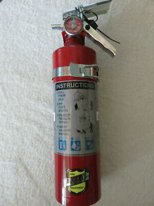 New buckeye 2 1 2 lb Abc Fire Extinguisher With Vehicle Bracket