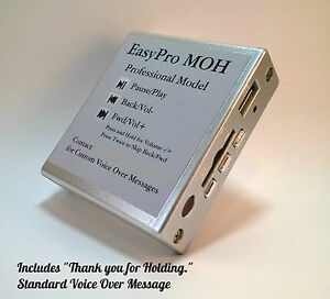 Easypro Moh Music On Hold Player Message On Hold Moh For Phone System