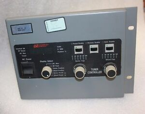 Advanced Energy Tcm Ii Rf Match Tuner Controller 3155039 002 Ae Azx mb36