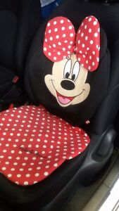 Car Seat Pad Cushion New Padding Disney Red Minnie Mouse Benz Smart Fortwo Mini