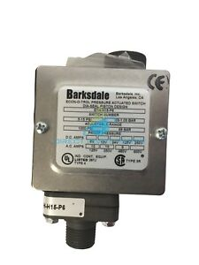 Barksdale Low Pressure Shutdown Switch E1hh90p6 Zimmatic Reinke Valley
