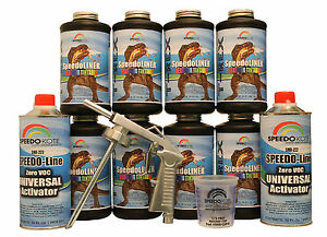 T rex Tintable Spray on Truck Bed Liner Smr 1000t k8 Bedliner Kit W free Gun
