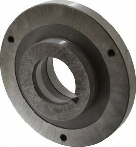 Bison Lathe Chuck Back Plate Loo Fits Set tru 6 In Chuck 7 879 9061