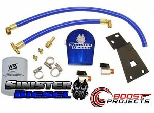 Sinister Coolant Filtration System For Powerstroke 99 03 7 3l Sd Coolfil 7 3 W