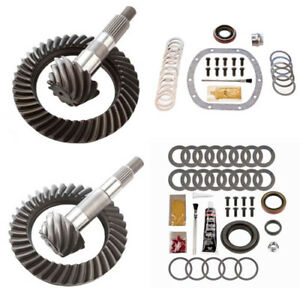 4 56 Ring And Pinion Gears Install Kit Package Dana 30 Tj Front D35 Rear