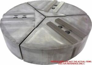 15 rkt 10400a Aluminum Round Jaws For 10 Kitagawa Chuck With A 4 Ht 3pc Set