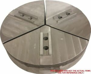 18 rm3 15250a4 Alum Round Jaws For 15 18 Chuck W a 2 5 Ht 3pc Set
