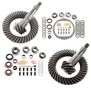 4 56 Ring And Pinion Gears Install Kit Package Gm 8 25 Ifs Front 8 5 Rear
