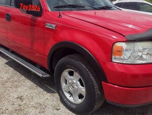 2006 2007 2008 Ford F 150 Fender Flares Factory Oe Style Finish Matte Black