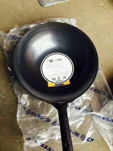 Real Japanese Steel Wok 14 Made In Japan