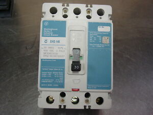 Westinghouse Ehd3030 Circuit Breaker 30 Amps used Ehd 3030 Warranty Ehd 3030