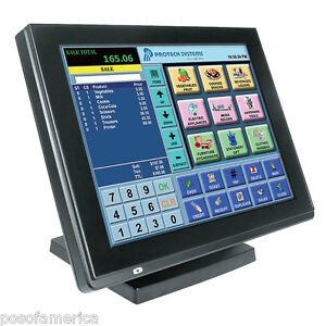 Protech Pa 6225 15 Pos Ip54 Terminal All in one For Restaurant Bar 4gb Ram New