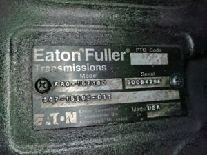 2000 Freightliner Columbia Eaton fuller Fro 15210c 10 Speed Transmission