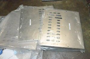 Mass Flow Controller Mfc Metal Front Panel Plate Cover Electrical Box Cover Lot