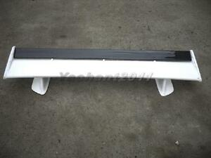 Frp Oe Rear Spoiler Wing W Carbon Blade For 99 02 Nissan Skyline R34 Gtt Gtr