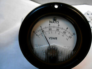 101727 Watts Meter Fs 25uadc New Old Stock