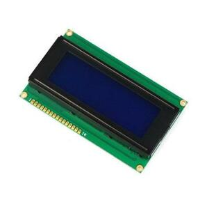 10pcs 2004 204 20x4 Character Lcd Display Module Hd44780 Blue Blacklight Z3