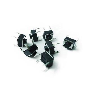 30pcs Tactile Push Button Switch Tact Switch 6x6x4 3mm 4 pin Dip New Z3
